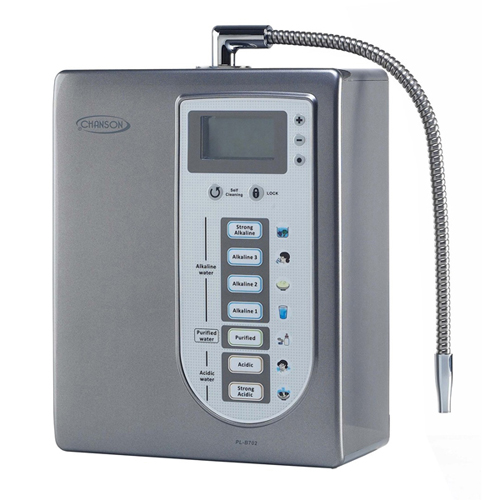 Alkaline Water Ionizers - Chanson Miracle 7 Plate Countertop Alkaline Water Ionizer - Grey