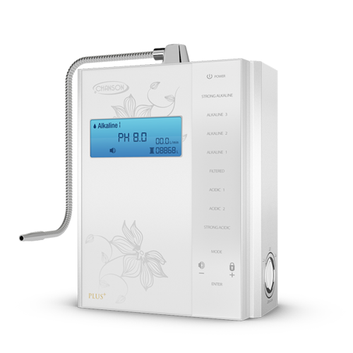 Alkaline Water Ionizers - Chanson Miracle Max Plus 7 Plate Countertop Alkaline Water Ionizer - White