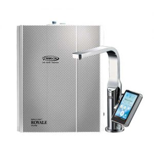 Alkaline Water Ionizers - Chanson Miracle Max Royale 7 Plate Under Countertop Alkaline Water Ionizer - Chrome Faucet
